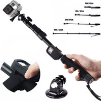 Action Camera Accessories Extendable Mount Monopod Kits Pro WIFI Remote Strap Selfie Monopod Adapter For GoPro