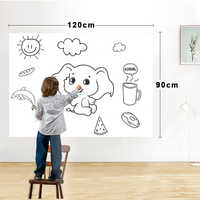 Dry Erase Magnetic Whiteboard Film Surface for Walls,Doors,Tables,Chalkboards,Whiteboards,Super Sticky,Stain-Proof,Easy install