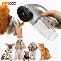 Petacc Puppy Vacuum Trimmer Machine Beauty Grooming Tool Electric Pet Vacuum Cleaner Dog Fur Hair Remover