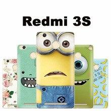 Xiaomi Redmi 3s case cover plastic cartoon case for Xiomi Xiaomi Redmi 3s 3 s phone case Lovely pc m3 Xiaomi Redmi 3s pro case