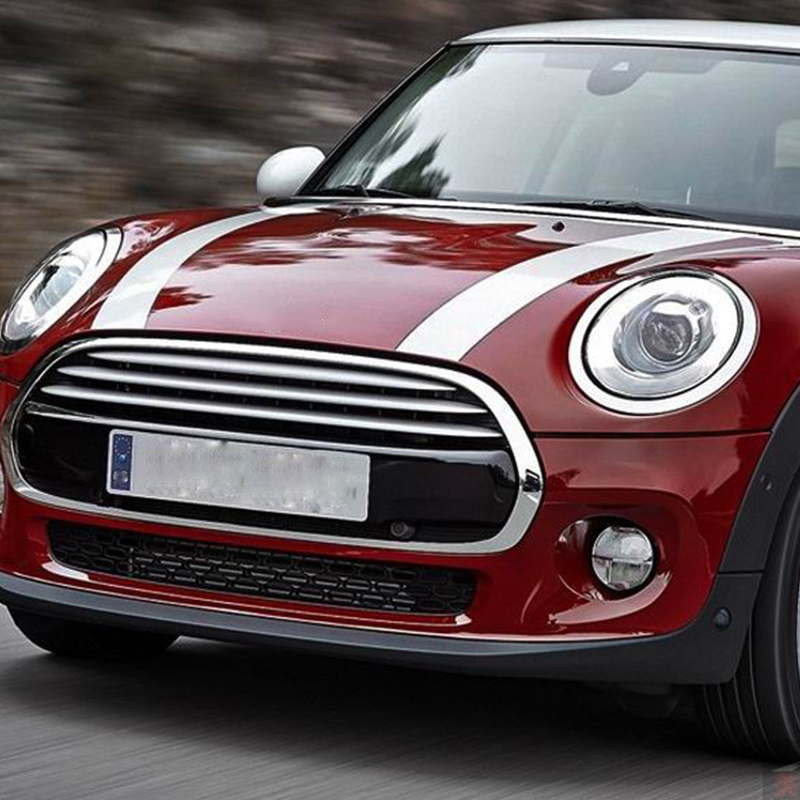 Car Styling Auto Hood Engine Cover Stickers Decal Stripe Vinyl DIY For Mini Cooper One S JCW F54 F55 R55 R56 R60 R61 Accessories