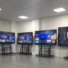 I7 100 дюймов 4K светодиодный телевизор/супер ТВ LAN/wifi сеть смарт-телевизор с сенсорным экраном и встроенным пк