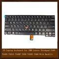 New original eua teclado do portátil para ibm lenovo thinkpad t440 t440s t431s t440p t450 t450s t460 com teclado retroiluminado