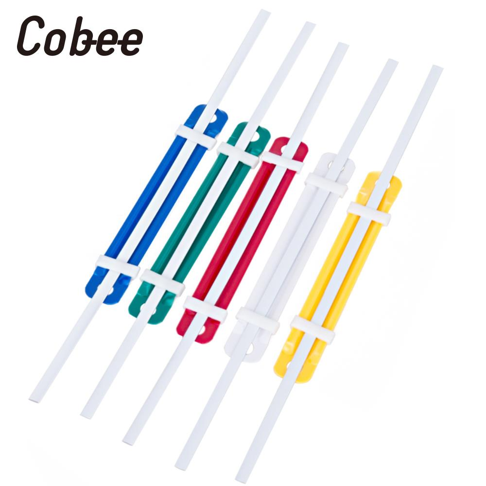 50Pcs/Lot 2 Holes Document Paper Fasteners Plastic Binding Binder Rings Two-Piece Paper Fastener Office Equipment Practical