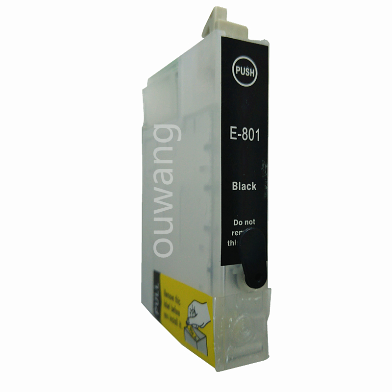 T0801 Refillable ink Cartridge for epson P50 PX650 PX700 PX800 PX710 PX720 PX810 PX820 R265 R285 R360 RX560 RX585 printer in Ink Cartridges from Computer Office