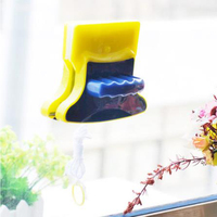 Magnetic Window Glass Cleaning Brush Wiper Double Side Glass Cleaner Wiper Double Sided Surface Cleaning Tools