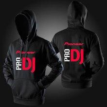 DJ musik hoodies mann hoody unisex benutzerdefinierte pioneer pro DJ hoodie männer baumwolle winter sweatshirt jacke kostenloser versand