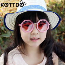 KOTTDO Sunglasses 2018 Octagon Kids Sunglasses Multi-colors