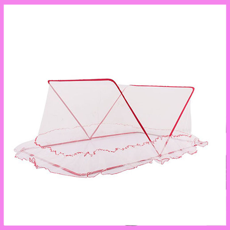 Portable Folding Baby Crib Netting Bedding Baby Bassinet Nursery Furniture Newborn Bed Cot Convertible Crib White Mosquito Net 1pcs jollybaby brica portable folding travel bassinet baby bed baby crib bed on the go infant bed