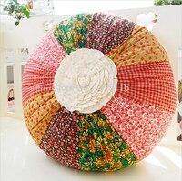 sofa pillow decorative pillows stuffed fabric handmade cushion pillow circle at home fabric rainbow pumpkin