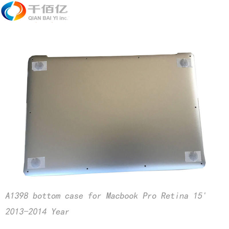 100 Brand New Replacement A1398 bottom case for font b Macbook b font Pro Retina 15