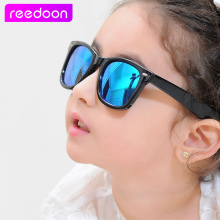 reedoon Vintage Kids Sunglasses Brand Sun glasses Children Glasses Cute Designer Fashion Oculos De Sol Infantil Hipster 2140