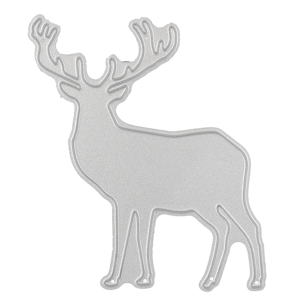 Aliexpress Stahl Weihnachten Elch Hirsche Stanzformen
