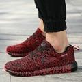 Men Plus size Shoes Casual Mixed Color Breathable Mesh Canvas Flat Sport Walking 350 Shoes Mens Trainers Basket Zapatillas