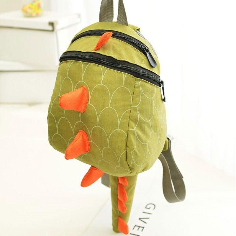 DUDINI Lovely Children Backpack Animal Dinosaur Pattern School Bags Canvas Breathable School Gift For Kids Hot Sale Backpacks