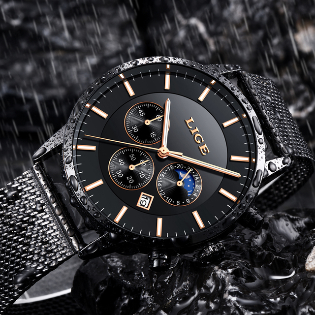 Waterproof Luxury Wristwatch