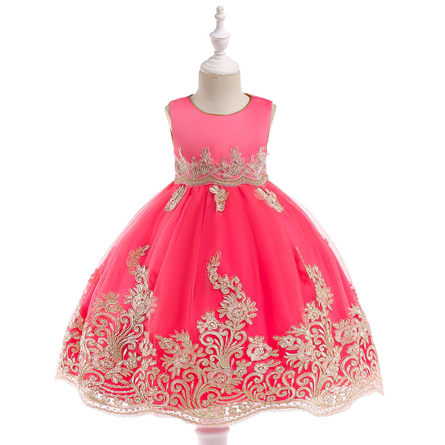 girl Christmas dress party princess new year dress girls fashion 2018  toddler girl dress a2282ccb3a2d