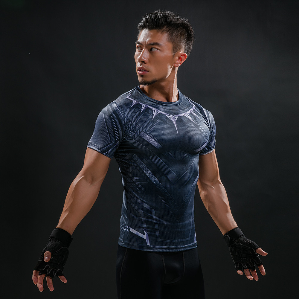 Punisher 3D Printed T-shirts Men Compression Shirts Long Sleeve Cosplay Costume crossfit fitness Clothing Tops Male Black Friday 70