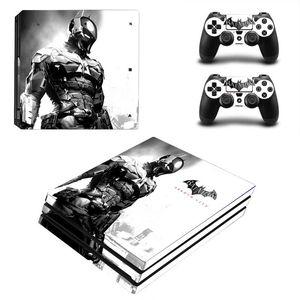 Image 5 - Joker Man pegatina para piel de diseño para Sony Playstation 4 Pro consola y 2 uds controlador de piel Calcomanía para PS4 Pro accesorios de juego