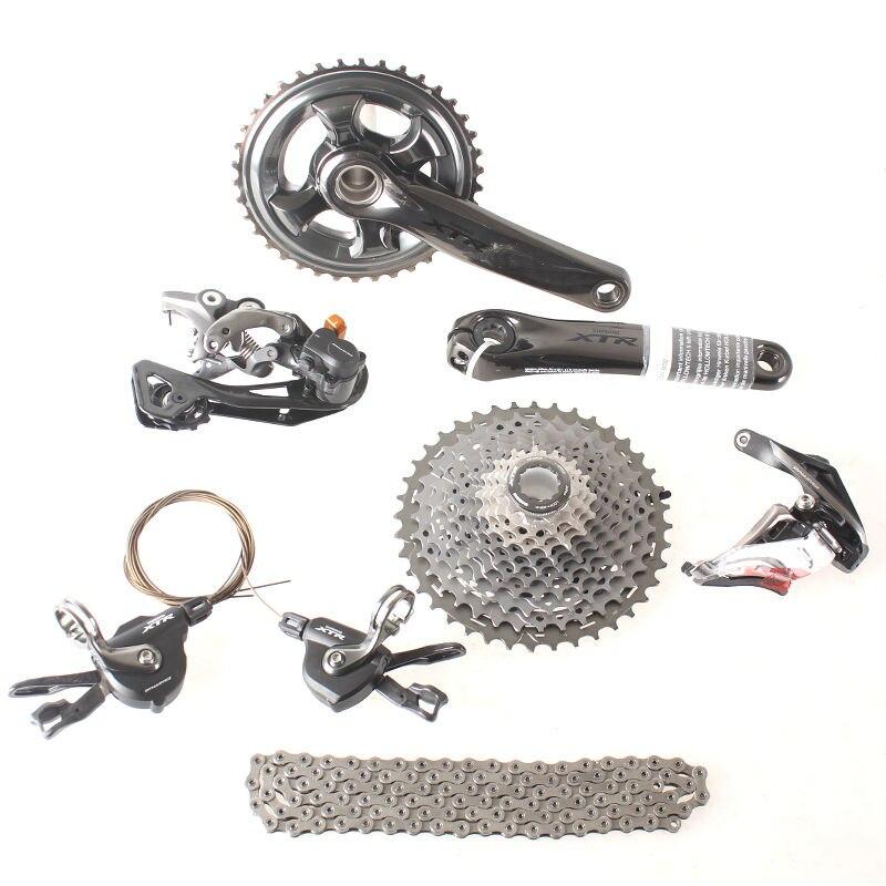 SHIMANO XTR M9000 M9020 1x11 2x11 3x11 11 S 22 33 Скорость Groupset Drivertrain переключатели для MTB Горный запчасти для велосипеда