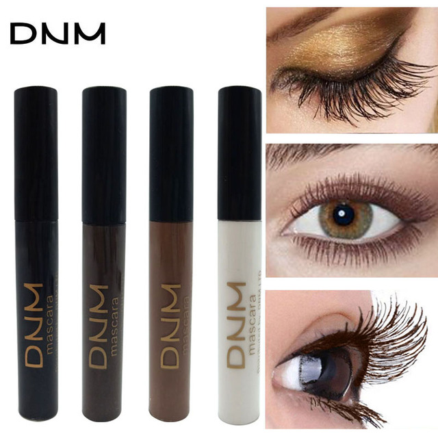 4 Colors Mascara 4D Curling Volume Eyelash Extensions Makeup Eyelash Lengthening Maskara Make Up Black/Brown/Coffee/White 1