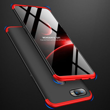 OPPOF9 360 Degree Full Protection Hard Case For OPPO F9 Back Cover shockproof case For OPPO F9 F 9 case + glass Film for OPPO F9 oppof9 mirror flip case for oppo f9 f 9 luxury clear view pu leather cover for oppo f9 smart phone case for oppof9