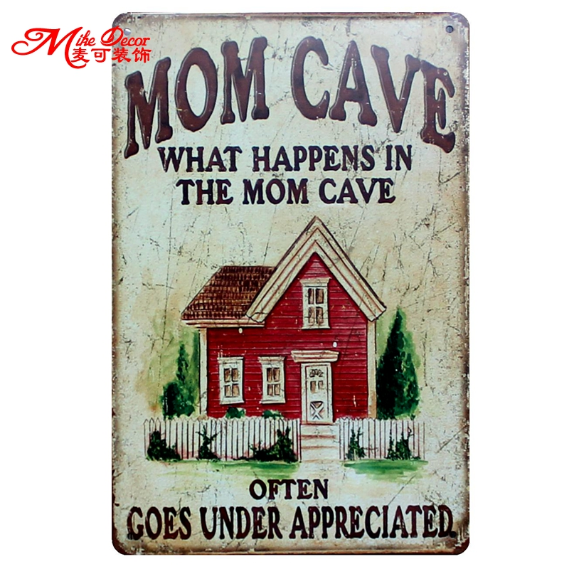 I ONLY HAVE A KITCHEN AS IT CAME WITH THE HOUSE MUM WIFE METAL PLAQUE SIGN 838