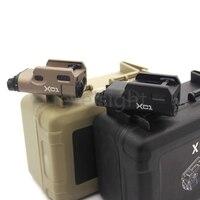 Tactical Ultra-Compact LED Light XC1 Mini Flashlight for glock Scope Picatinny 20mm Weaver Rail Mount