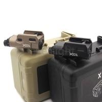 Tactical Ultra Compact LED Light XC1 Mini Flashlight for glock Scope Picatinny 20mm Weaver Rail Mount