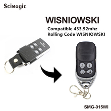 Wisniowski electric garage gate door controller remote transmitter compatible 433,92Mhz rolling code command garage freeshipping
