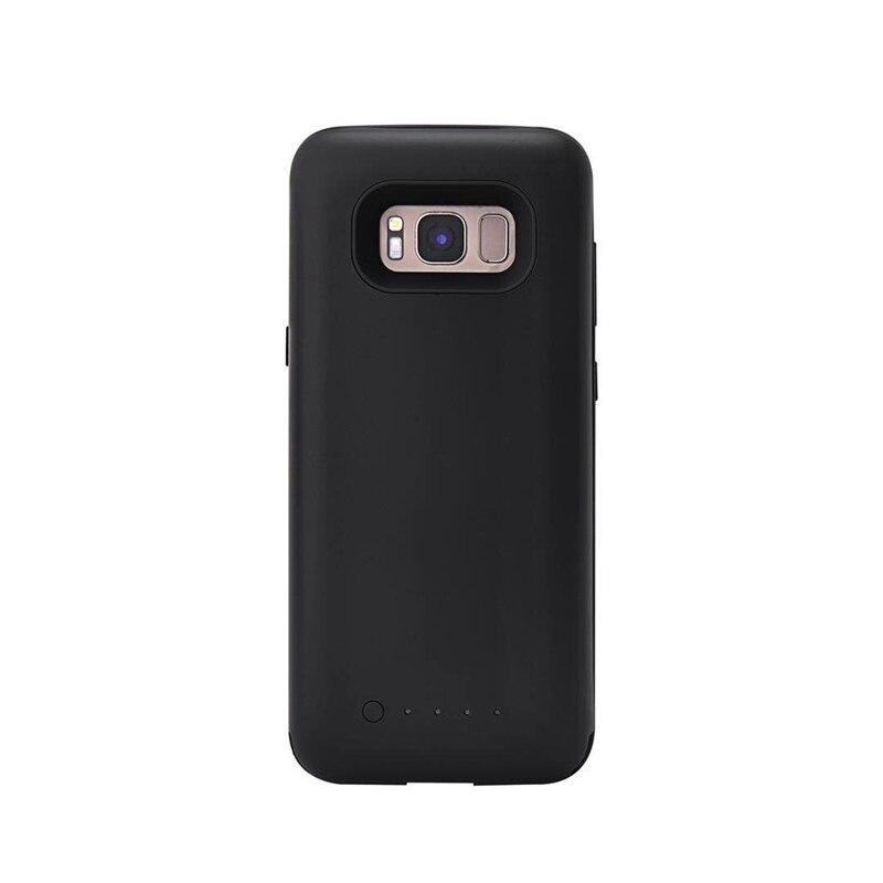 Caixa de bateria para samsung galaxy s8 SM-G9500 caso carregador para samsung galaxy s8 plus SM-G9550 bateria externa de capas celulares