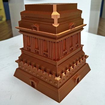 3D Printer Filament Silk PLA copper 3 mm (2.85 mm) 1kg(2.2lbs)Silk like feel Copper shiny Spool 3D pen Printing Material rich luster filament