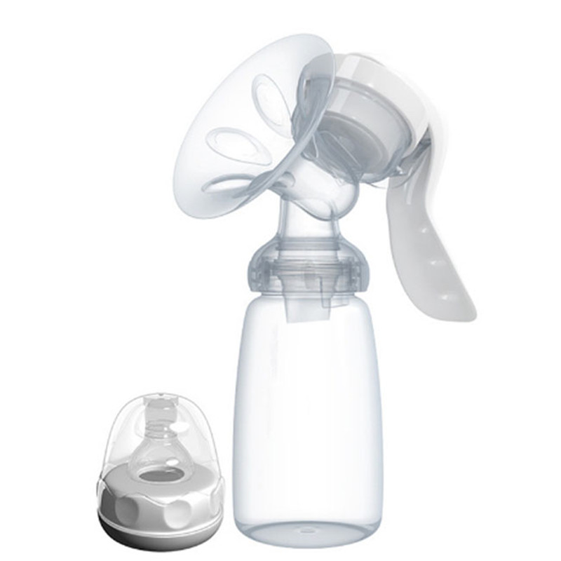 Hand-type Breast Pump Baby Product Feeding Manual Breast Pump Baby Milk Bottle Nipple With Sucking Function Mother Use