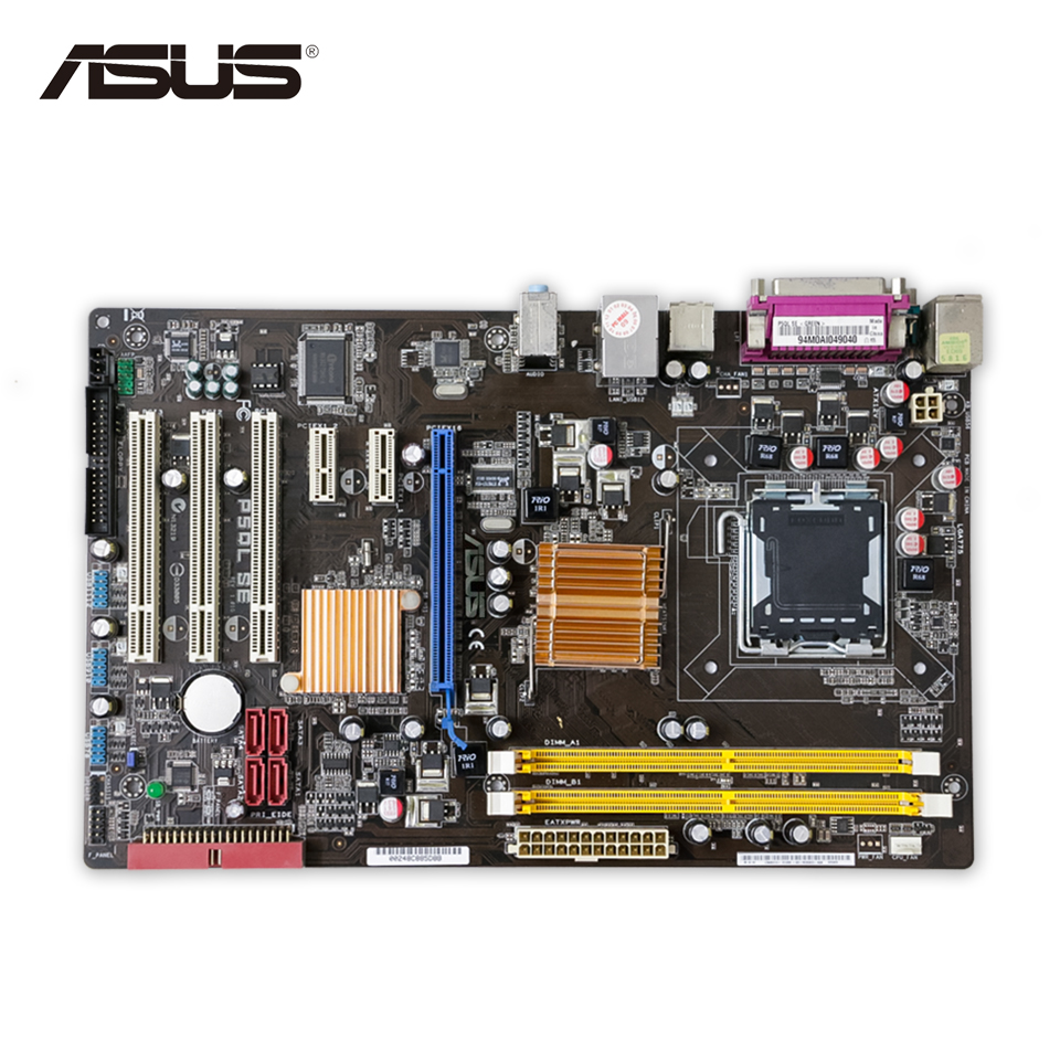 цена на Asus P5QL SE Original Used Desktop Motherboard P43 Socket LGA 775 DDR2 8G ATX On Sale