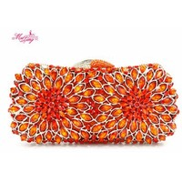 Новый бренд чудесный Ужин сумка модные вечерние бриллиантами Для женщин Женские Кошельки партии Сумки SAC Mujer Bolsas подарок сплошной Цвет