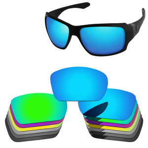 PapaViva POLARIZED Replacement Lenses for Authentic Big Taco Sunglasses 100% UVA & UVB Protection - Multiple Options