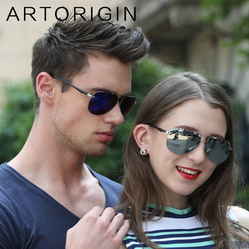 ARTORIGIN Brand Polarized Sunglasses Men Women Unisex Pilot Aviation Polariod Sports Sun Glasses For Driving Mirror Oculos 9030