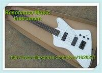 أحدث وصول كلاسيكي نموذج فايربيرد الغيتار باس 4 سلاسل الأبيض إنهاء الأجهزة و يفتي باس الأسود متاح