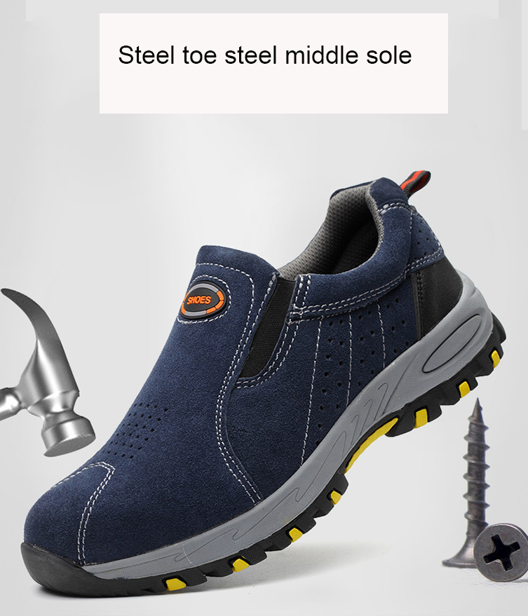 MEN/'S WORK SHOES STEEL TOE BOOTS INDESTRUCTIBLE BULLETPROOF ULTRA X PROTECTION