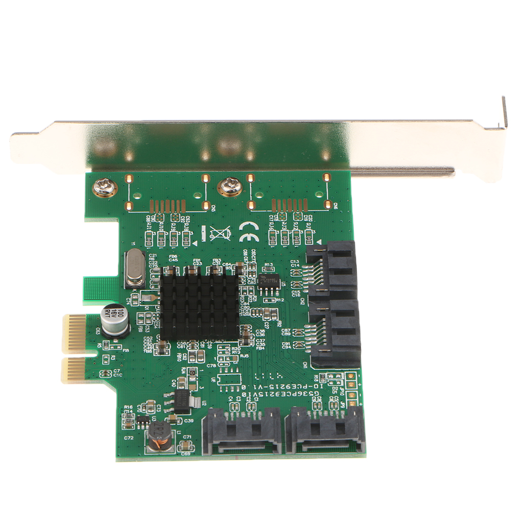 цена на Dovewill PCI-E SATA 3 to USB 3.0 4-Port PCI Express Expansion Card 4 USB 3.0 Ports