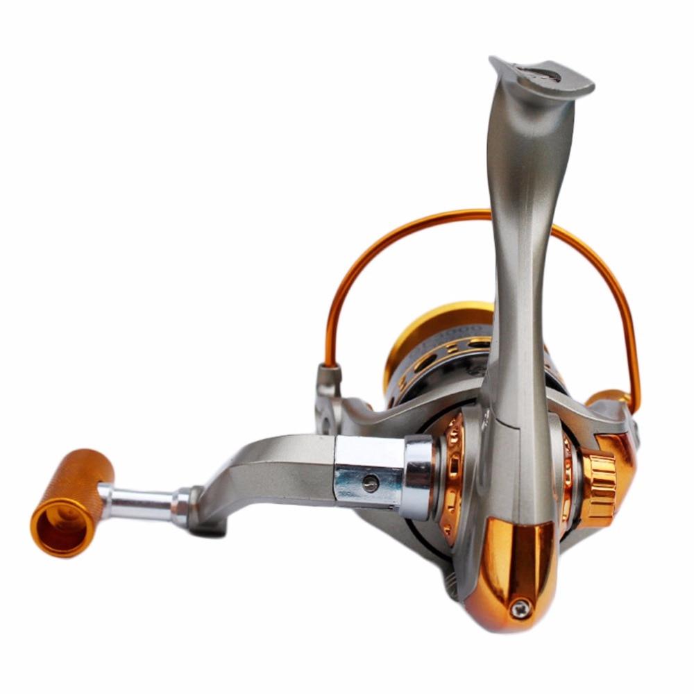 Never Break GF 3BB 5.2:1 Full Aluminum Metal Spinning Boat Fishing Reel Waterproof UT Carbon Drag Ultra Smooth HOT SALE