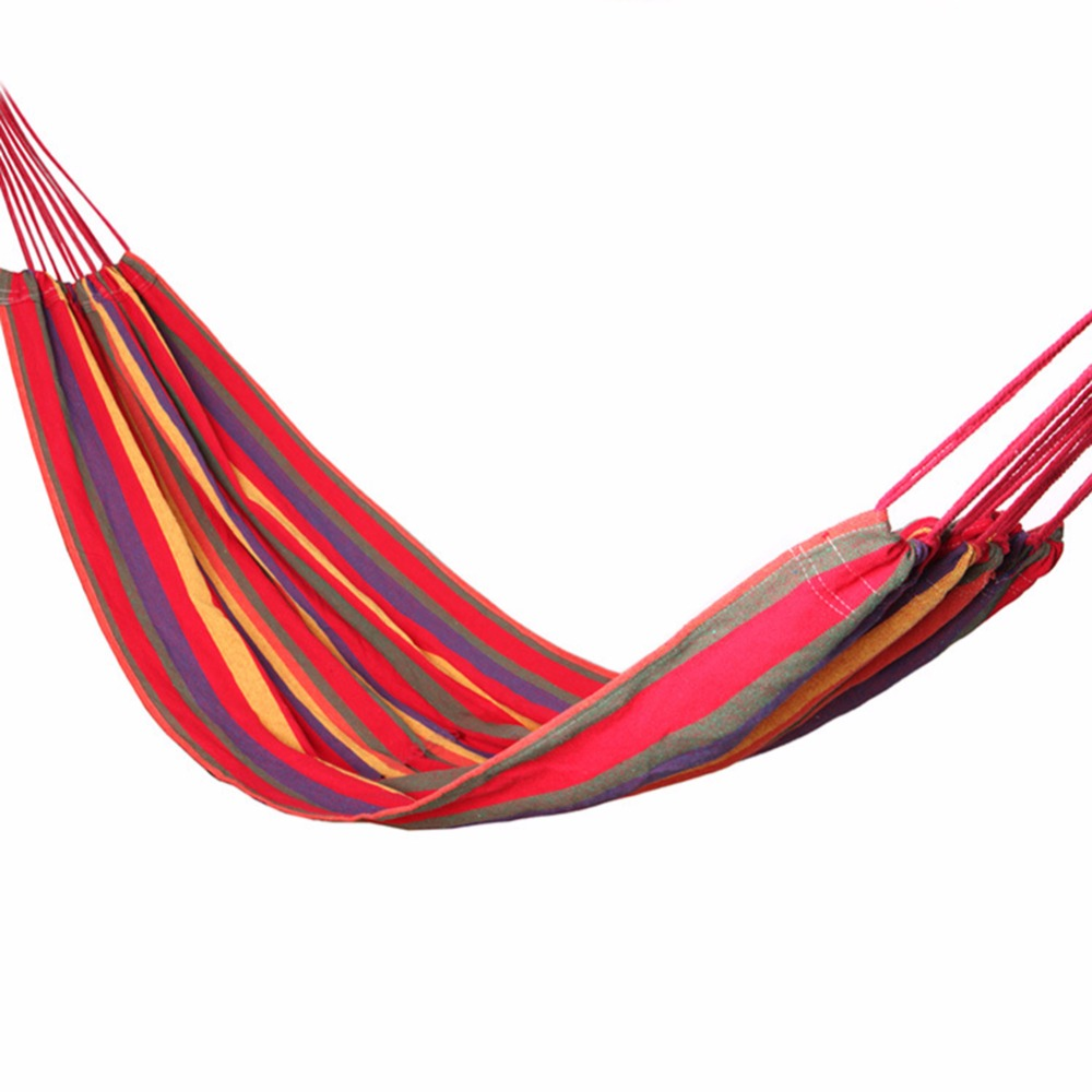 portable cotton parachute double hammock garden outdoor camping travel furniture survival hammock swing sleeping bed  in hammocks from furniture on     portable cotton parachute double hammock garden outdoor camping      rh   aliexpress