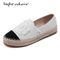 New Fashion Comfortable Seasons Women Espadrilles Shoes flats summer shoes slides ladies Woman Casual Loafers High Quality XXLC