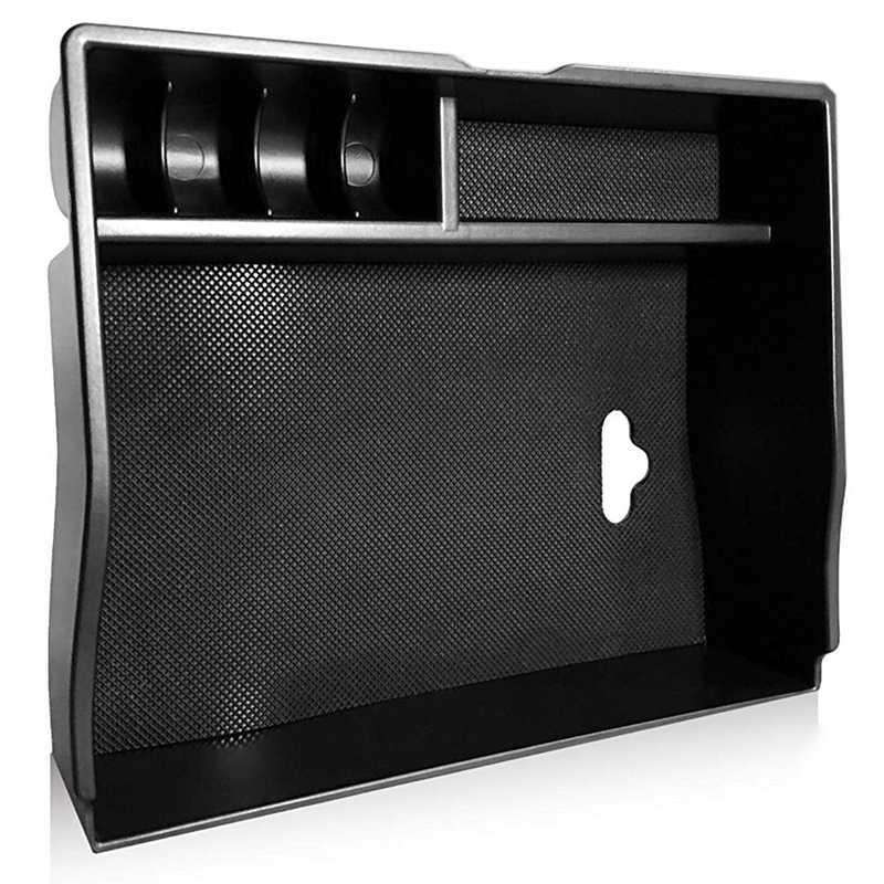 Center Console Organizer For Sienna 2011-2019 Center Console Organizer Tray Device Armrest Storage Box Insert Organizer Tray C
