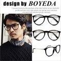 2016 Brand Fashion Black Eyeglasses Retro Vintage Metal Optical Frame Reading Glasses Men Women Myopia Eye Glasses Frame Oculos