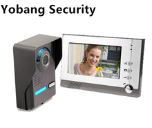 Yobang Security Freeship 7 Hands free Videophone With font b Door b font Camera Home Office