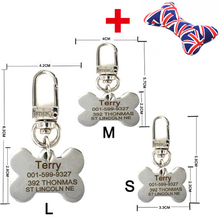 Customizable Engraved Dog ID Tag + FREE Gift!