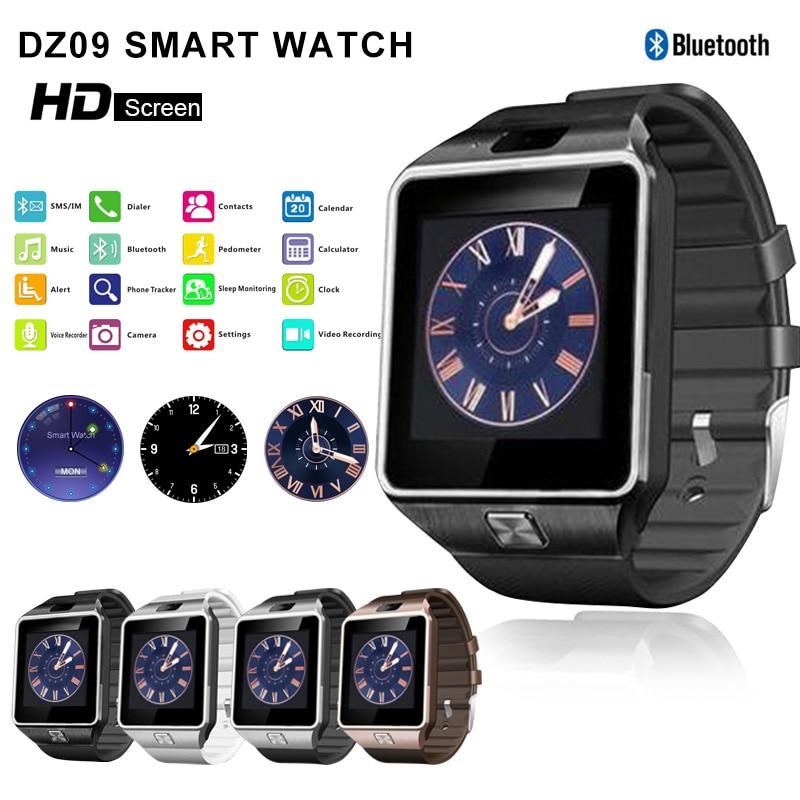 DZ09 Smart Watch Men 2018 relogio inteligente Sport Bluetooth Dz 09 Smartwatch For Xiaomi Android Phone Call relogio invicta