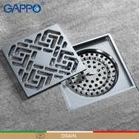 GAPPO Drains Anti-odor Bathroom Floor Drain bathroom drainers stopper Bathtub Shower Drainer Strainers