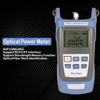 волоконно-оптический кабель FTTH ручной свет мощность метр оптический кабель тестер сетей ФК/СК разъемы-70 ~ + 20 дБм